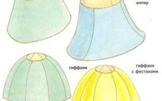 Как сделать абажур для люстры своими руками, мастер класс