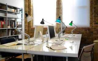 Офисная настольная лампы для рабочего стола: выбор, обзор моделей