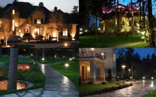 Как сделать правильное освещение участка загородного дома