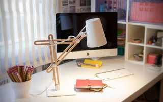 Детская настольная лампа: для учебы и декоративные светильники