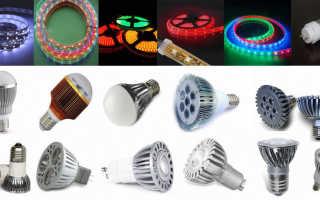 Выбираем светодиодные светильники для уличного освещения, советы и рекомендации