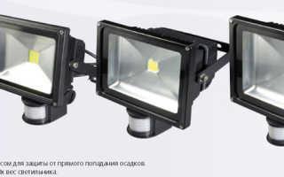 По каким критериям выбрать диодный прожектор