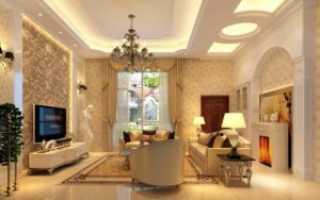 Как своими руками сделать парящий потолок из гипсокартона с подсветкой