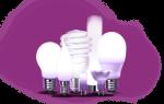 Виды и типы цоколей обычных и специфических ламп освещения