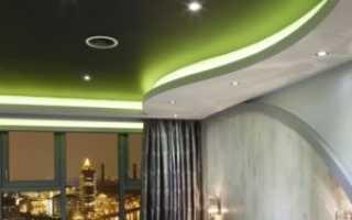 Выбираем лучшие светильники для натяжных потолков