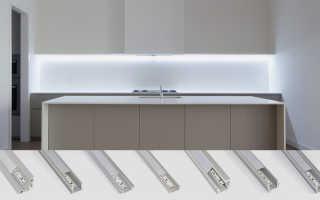 Как выбрать и установить короб для светодиодной ленты своими руками
