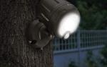 Как выбрать светодиодный прожектор с датчиком движения