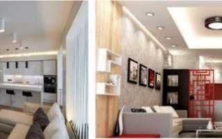 Точечные светильники для гипсокартонных потолков: виды и монтаж