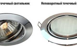 По каким параметрам выбирать встраиваемые светодиодные светильники