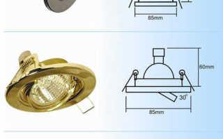 Выбираем потолочные встраиваемые светодиодные светильники