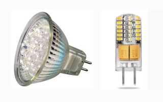 Cветодиодные лампы на 12 вольт: виды, цоколи, устройство и схема подключения