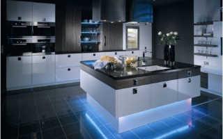 Выбираем вместе светодиодные ленты для подсветки кухни
