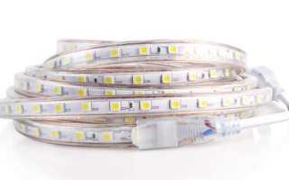 Как обрезать светодиодную ленту