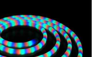 Волшебный неон – как самостоятельно выбрать и подключить светодиодный шнур