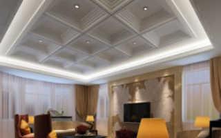 Как самому сделать потолочный плинтус с подсветкой