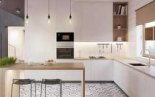 Как устроить подсветку под шкафы в кухню
