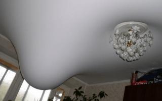 Как снять светильник с натяжного потолка: правильный порядок действий