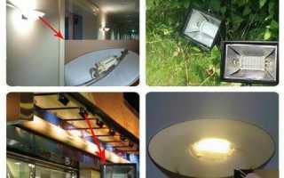 Светодиодная лампа r7s: характеристики и особенности выбора