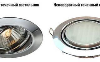 Какие выбрать светильники для натяжных потолков, основные правила