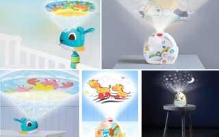 Детские ночники tiny love: мобили, музыкальные, с проектором