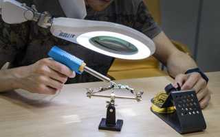 Лампа-лупа настольная: обзор видов и моделей
