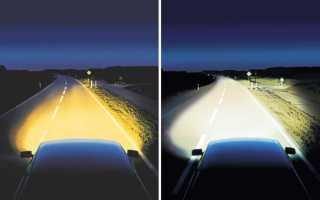 Линзы ксенон и биксенон: какой лучше ставить в линзованные фары, установка светодиодных ламп