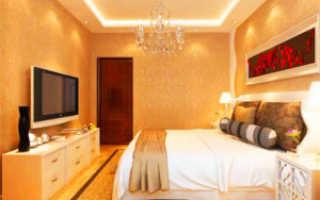 Как повесить светильники на натяжной потолок: установка точечных и других приборов освещения