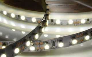Мощность светодиодной ленты: как рассчитать