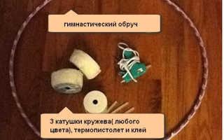 Люстра своими руками из подручных материалов