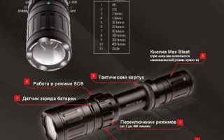 Как выбратьсветодиодный мощный фонарь, рекомендации и советы