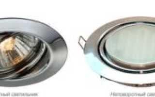 Точечные светильники для гипсокартонных потолков — правило выбора
