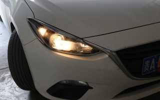 Замена ламп ближнего света Форд Фокус 3