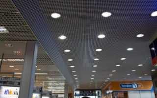 Светодиодные светильники грильято: какие бывают, монтаж своими руками