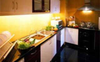 Подбираем оптимальные варианты освещения и расположения светильников на кухне