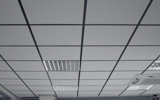 Светильники в потолок армстронг: какие выбрать?
