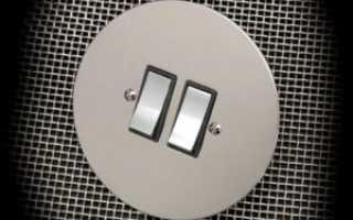 Порядок и схема подключения люстры к двойному выключателю