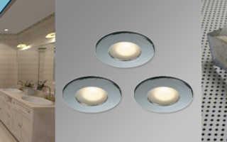 Выбираем вместе влагозащищенные светильники для ванной комнаты