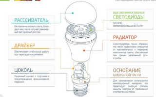 Выбираем светодиодные лампы для дома с цоколем е27