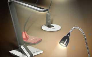 Выбираем настольный светодиодный светильник: с лупой, аккумулятором или регулировкой яркости