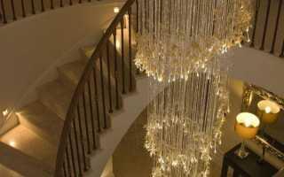 Большие люстры для высоких потолков — особенности выбора и рекомендации по установке