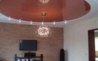 Люстры для натяжных потолков: выбор правильного освещения