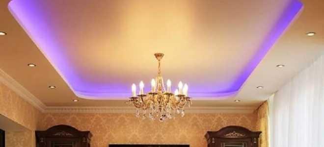 Cветодиодная подсветка потолка и плинтуса — как сделать самому и как она работает