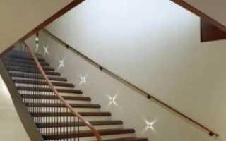 Основные способы организации и монтажа освещения лестницы в частном доме