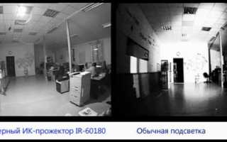 Как подобрать инфракрасный прожектор, рекомендации специалиста