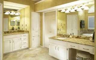 Бра для ванной: виды, правила выбора (фото)