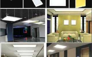 Выбираем лучшие светодиодные панели, критерии правильного подбора.