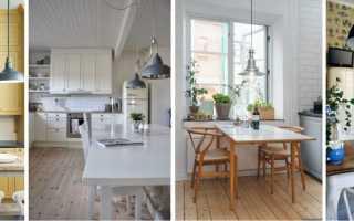 Какой выбрать потолочный светильник на кухню, советы дизайнера