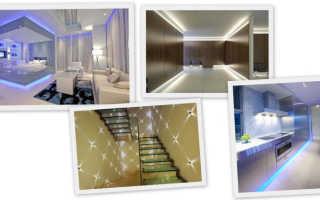 Светодиодное освещение в квартире, плюсы и минусы