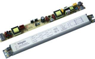 Как проверить баластник для люминесцентных ламп, ремонт