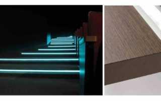 Как выбрать и разместитьсветильники для подсветки лестницы